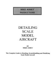 DETAILING SCALE MODEL AIRCRAFT BOOK INFORMATION