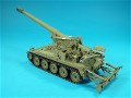1/35 SCALE M0110 SELF PROPELLED GUN PICTURES