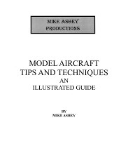 MODEL AIRCRAFT TIPS AND TECHNIQUES BOOK INFORMATION